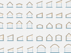 forme de acoperis in doua ape sau intr-o apa