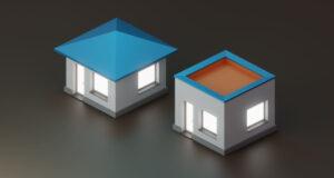 acoperis terasa sau sarpanta