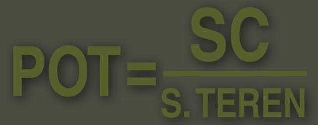 ce este pot si cut formula de calcul POT