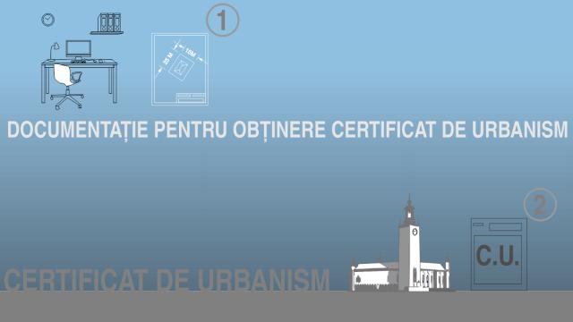certificat de urbanism infografic cu birou si cladire