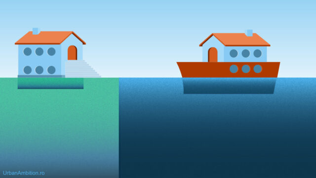 diferenta intre demisol si subsol casa pe barca casa pe apa