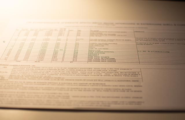 tablou de tamplarie in tabel pentru usile tip pentru tamplarii standard